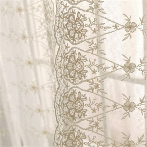 etsy curtain panels luxury ivory lace sheer curtain panel by lovelydecor on etsy