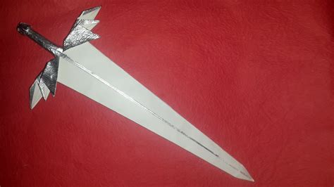 Origami Swords - origami angelic sword tutorial diy henry phạm