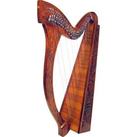 String L by Glenluce 29 String Harp With 24 Levers 60032 At