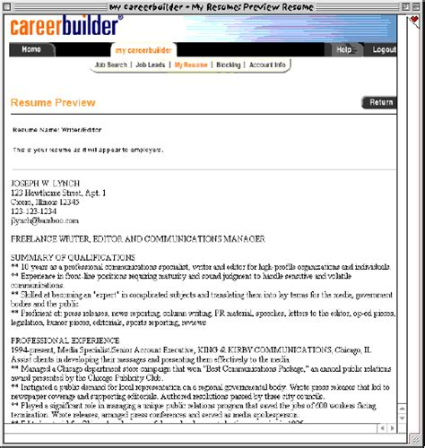 Resume Builder Career Resume Format Resume Builder