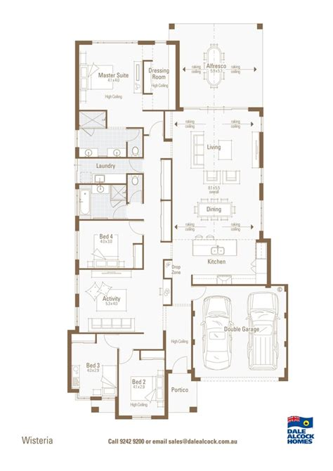 Dale Alcock House Plans Wisteria Floorplan Dale Alcock Home