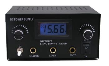 united tattoo supply tm led dual power supply for liner shader