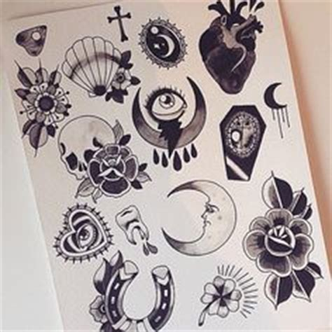 violet tattoo flash violet chachki tattoo flash sheet by supercheyne on etsy