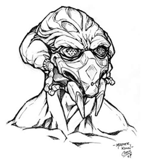 kit fisto coloring pages