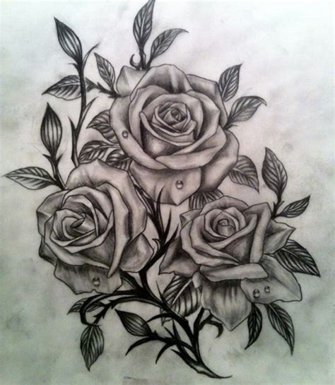 red and white rose tattoo black white and tattoos collection
