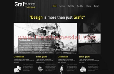 free abstract business joomla theme template
