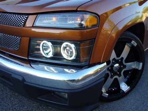 Chevy Colorado Lights by 04 08 Chevy Colorado Halo Led Projector Headlights