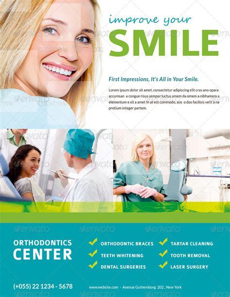 dentist flyer magazine ad by ingridk graphicriver