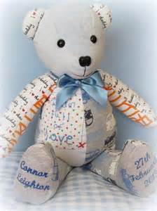 Remembrance Teddy Bears 17 Best Images About Memory Bears On Pinterest Special Gifts Dads And Babies Clothes