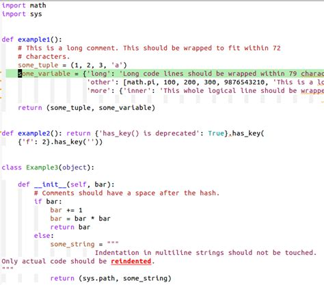 format html emacs automatically pep8 format your python code avil page