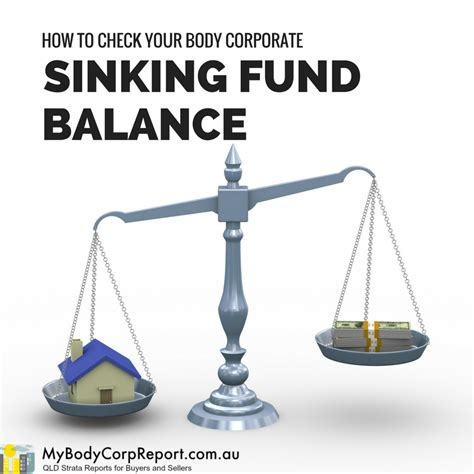 how to tell if your house is sinking how to check your body corporate sinking fund balance
