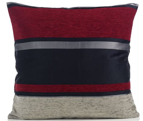 new sofa cushion covers modern striped chenille cushion covers sofa bed scatter