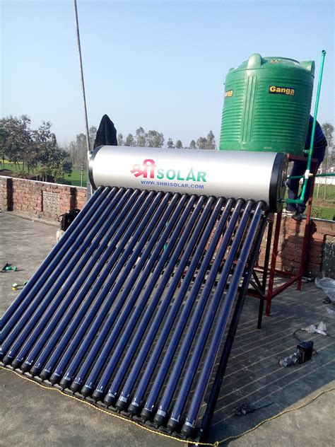 Solar Water Heater Murah 200 lpd etc solar water heater stainless steel coated