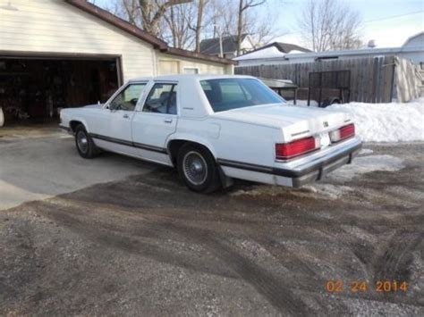 how to sell used cars 1989 mercury grand marquis electronic valve timing find used 1989 mercury grand marquis ls 4 door sedan in herscher illinois united states for