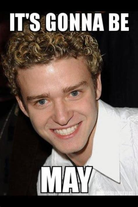 Justin Timberlake Meme - we can t end april without this important message from