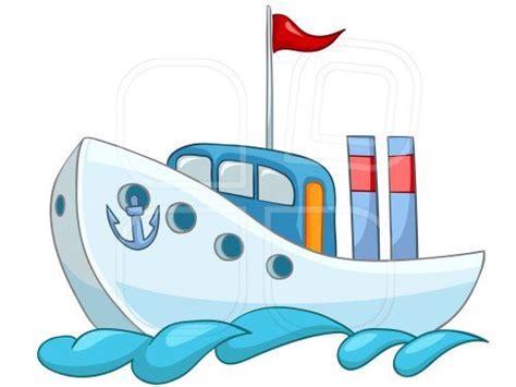 imagenes de barcos en caricatura caricatura de barco azul fondo blanco bandera roja