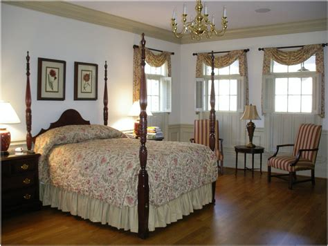 colonial bedrooms williamsburg window treatments google search