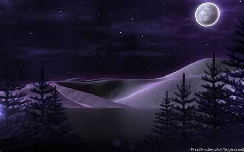 Wallpaper Christmas Night | christmas night wallpapers wallpaper cave