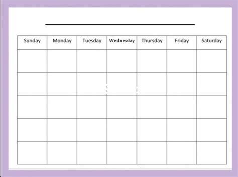 blank monthly calendar templates printable blank calendar template pdf