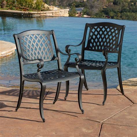 selling home decor hallandale set   aluminum dining chair  woven  lowescom