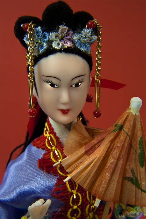 china doll china doll from hong kong with ornamental hair and