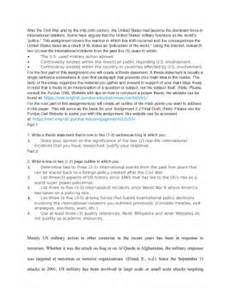 Policemen of the world thesis and outline the u s used military