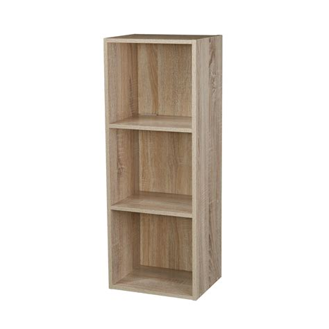 1 4 tier wooden bookcase bookshelf shelving storage