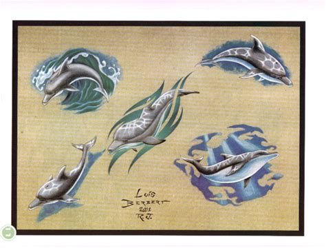 dolphin tattoo designs dolphin tattoos