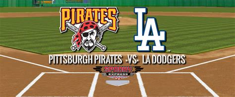 mlb betting preview pittsburgh pirates  los angeles dodgers