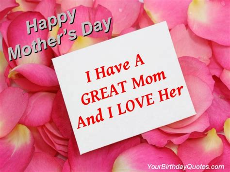 quotes for mothers day mothers day love you quotes greatest mom