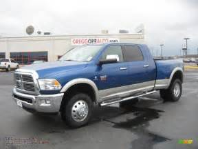 2011 Dodge Dually 2011 Dodge Ram 3500 Hd Laramie Mega Cab 4x4 Dually In