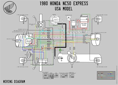 1980 honda nc50 wiring diagram moped wiki