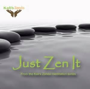 Cover Zen Go 45 meditation for letting go self hypnosis with kali cathie