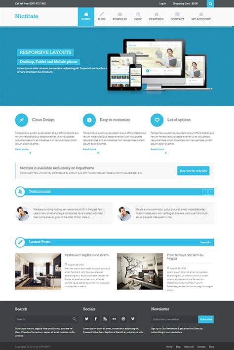 themes wordpress free premium top 12 best free responsive wordpress themes for 2014
