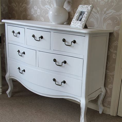 6 Drawer Chest Of Drawers White Classic White 6 Drawer Chest Of Drawers Melody Maison 174