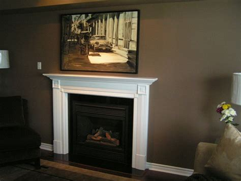 painted fireplace mantels white painted mantel