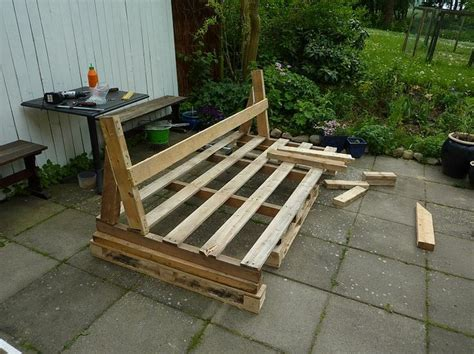make a sofa out of pallets pallet sofa