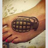 Skeleton Hand Grenade Tattoo | 280 x 311 jpeg 22kB