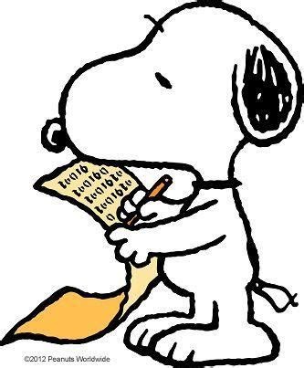 snoopy clipart snoopy writing clip clipart best