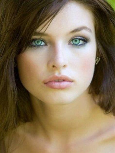 Makeup For Blue Eyed Brunettes