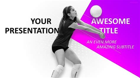 volleyball themes for powerpoint 30 sports mega powerpoint template