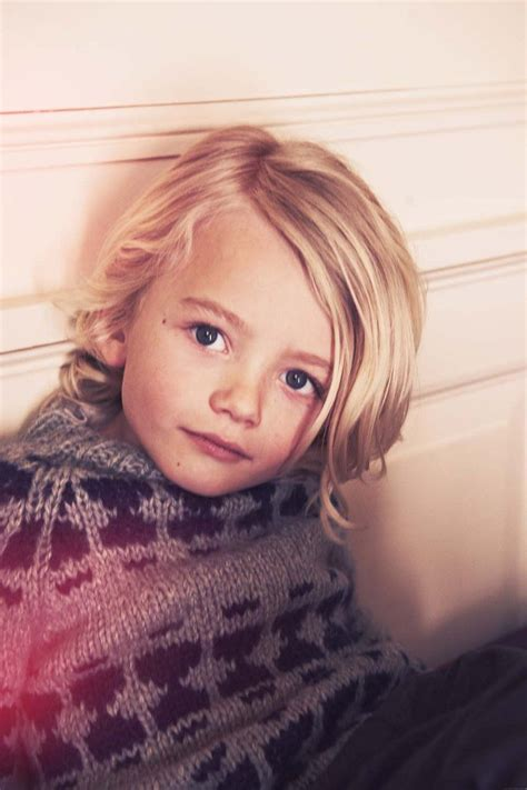little boy long hair oldfashoined photo for doolittle magazine with franne voigt future