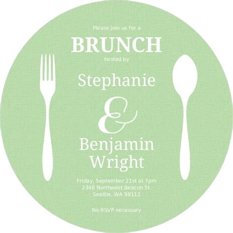 printable invitation cards for lunch flatwear circle brunch invitation lunch invitations