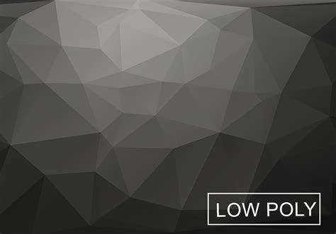 low poly background gray low poly background vector free vector