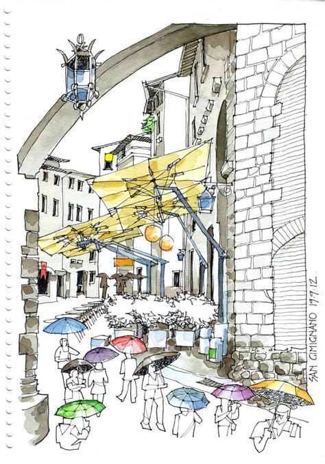 libro urban watercolor sketching a 2107 best images about sketching urban sketching on watercolors sketching and john
