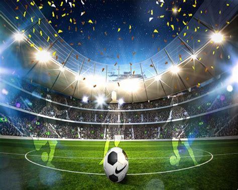 wallpaper 3d football beibehang hd fashion dream wallpaper huge football field