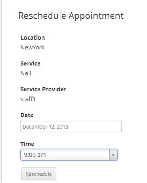 Cancellation List Template appointment cancellation list template