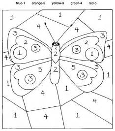color by number kindergarten color by number coloring pages and you can see the color