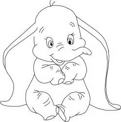 Dumbo Coloring Pages Disney Coloring Pages Dumbo Coloring Pages