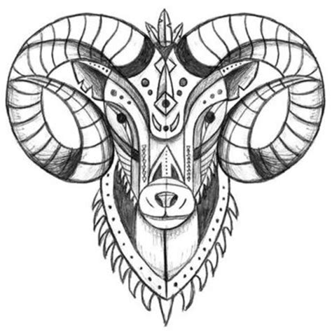 17 catchy ram tattoo designs
